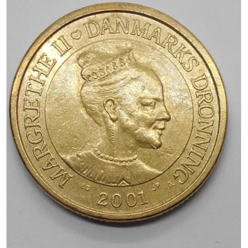 DENMARK 20 Kroner 2001