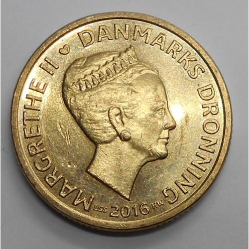 DENMARK 20 Kroner 2016