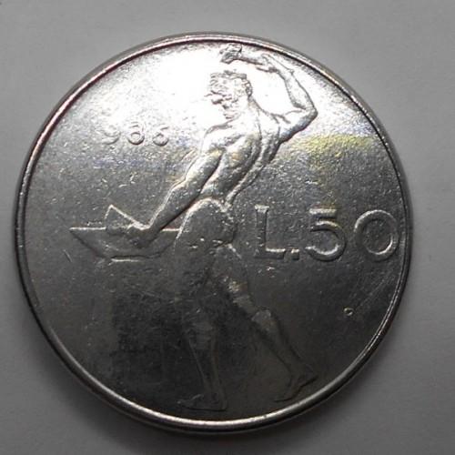 50 Lire 1986 Senza 1 della...