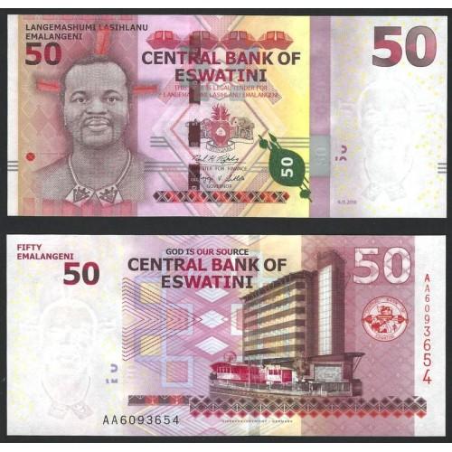 SWAZILAND eSWATINI 50...