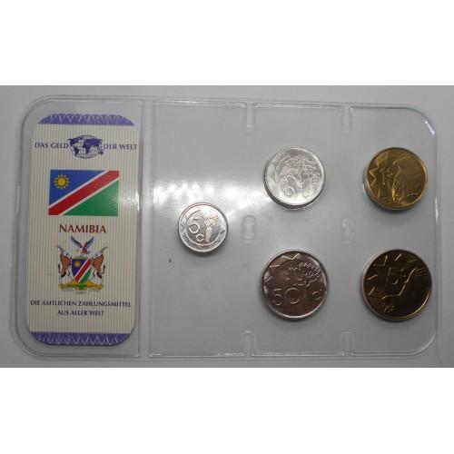 NAMIBIA Set coins 1993/2006