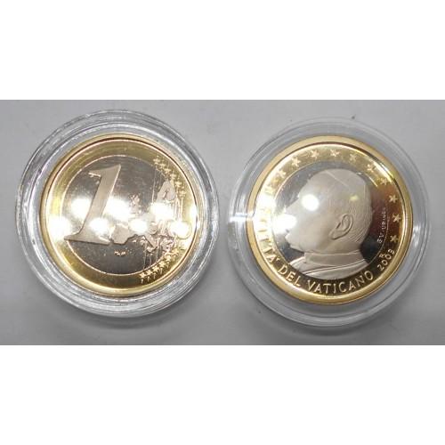 VATICANO 1 Euro 2003 Proof