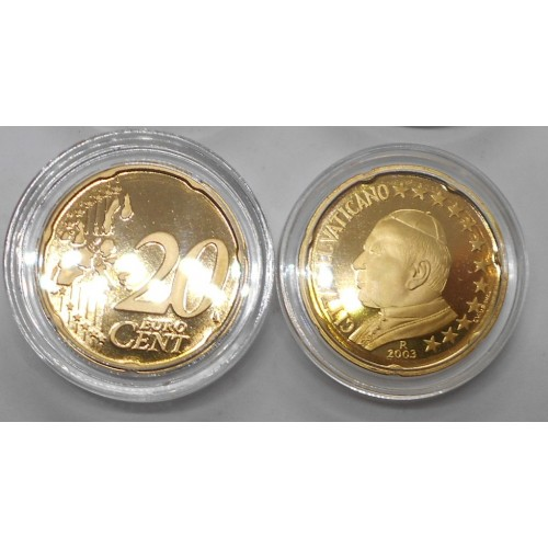 VATICANO 20 Euro Cent 2003...