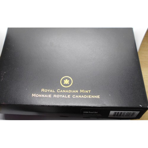 Canada Set coins 2008 PROOF...