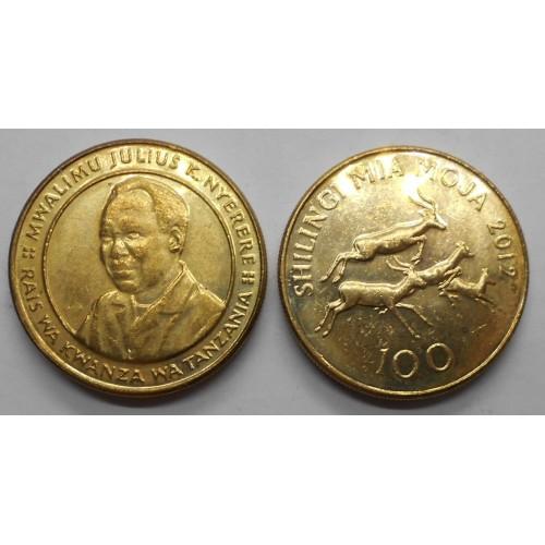 TANZANIA 100 Shilingi 2012...