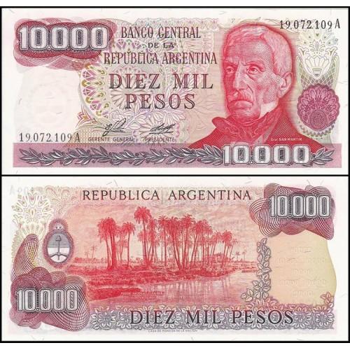 ARGENTINA 10.000 Pesos 1976