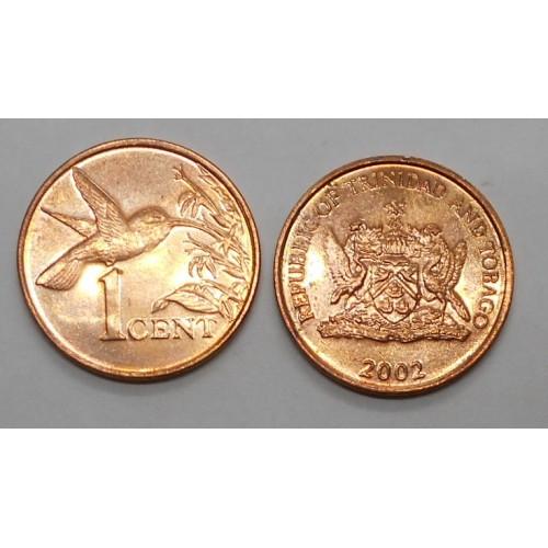 TRINIDAD & TOBAGO 1 Cent 2002