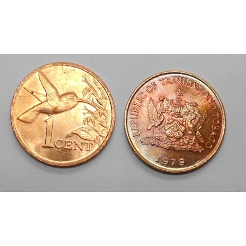 TRINIDAD & TOBAGO 1 Cent 1979