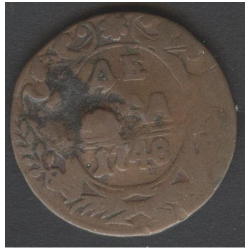 RUSSIA 1/2 Kopek 1748