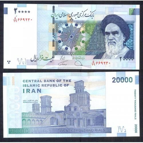 IRAN 20.000 Rials 2018