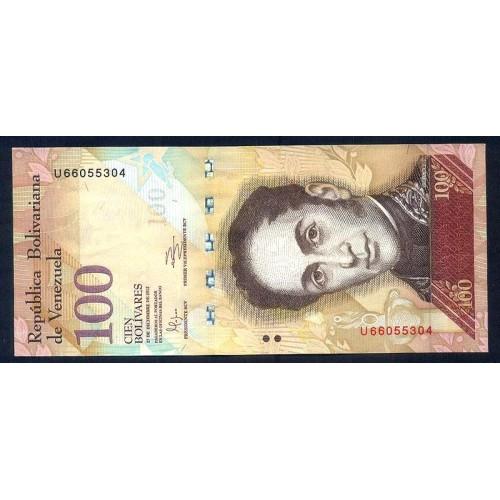 VENEZUELA 100 Bolivares...