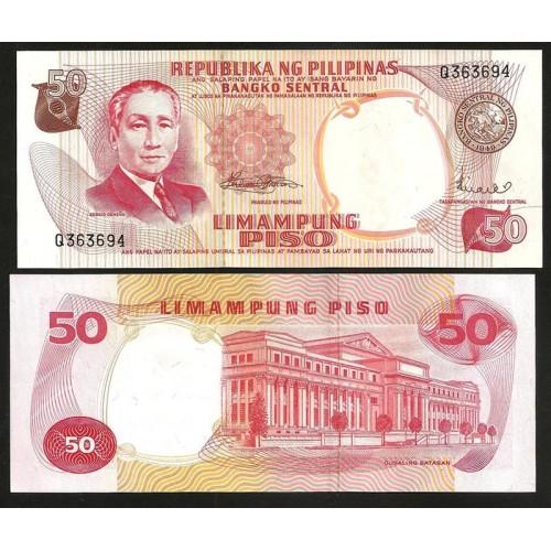 PHILIPPINES 50 Piso 1969