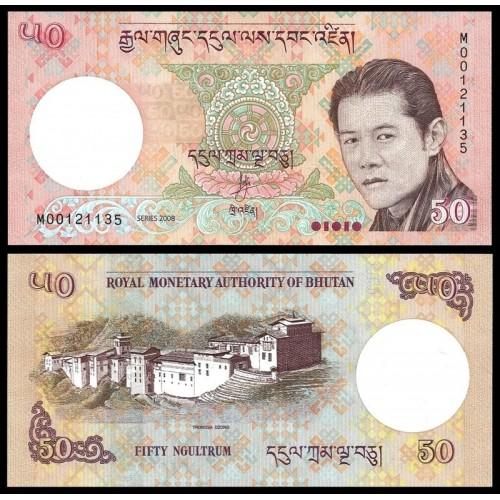 BHUTAN 50 Ngultrum 2008