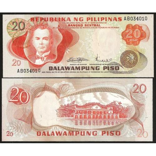 PHILIPPINES 20 Piso 1970