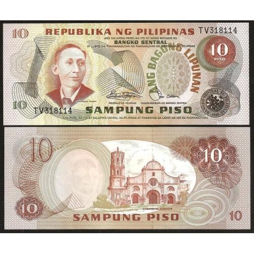 PHILIPPINES 10 Piso 1978