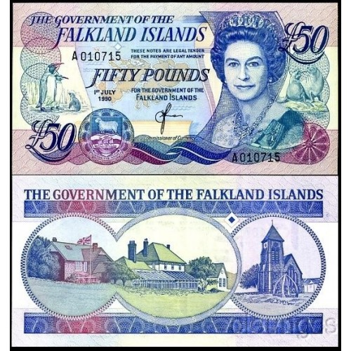 FALKLAND ISLANDS 50 Pounds...