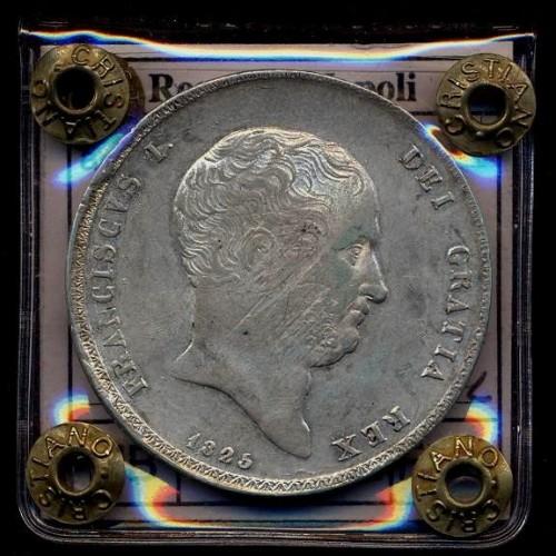 FRANCESCO I PIASTRA 1825 AG