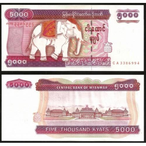 MYANMAR 5000 Kyats 2009