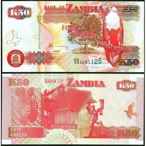 ZAMBIA 50 Kwacha 2009