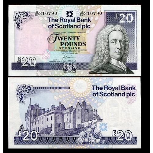 SCOTLAND 20 Pounds 2007