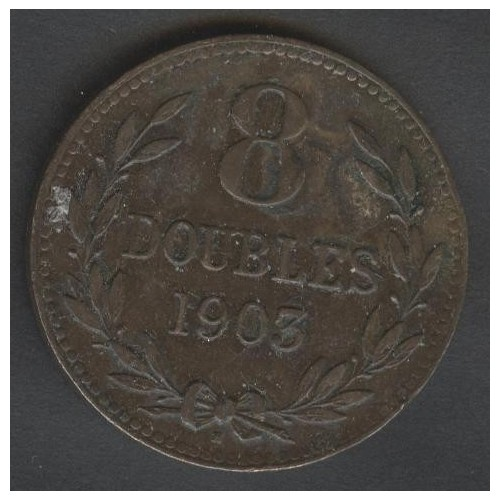 GUERNSEY 8 Doubles 1903