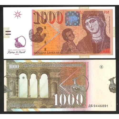 MACEDONIA 1000 Denari 2009