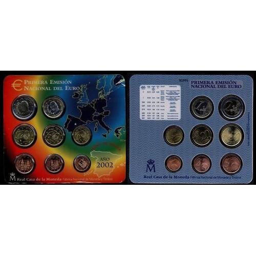 SPAIN Set 2002 Official Euro