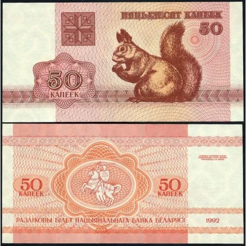 BELARUS 50 Kapeek 1992