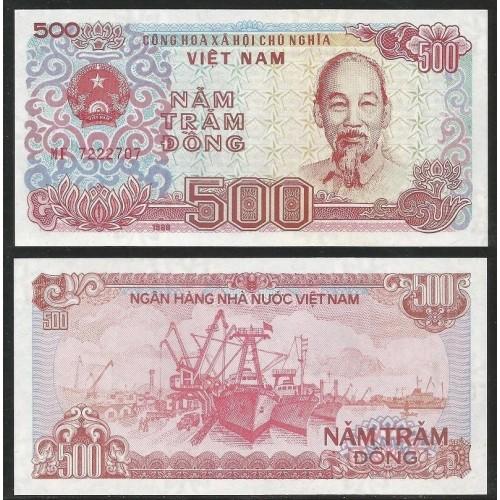 VIET NAM 500 Dong 1988