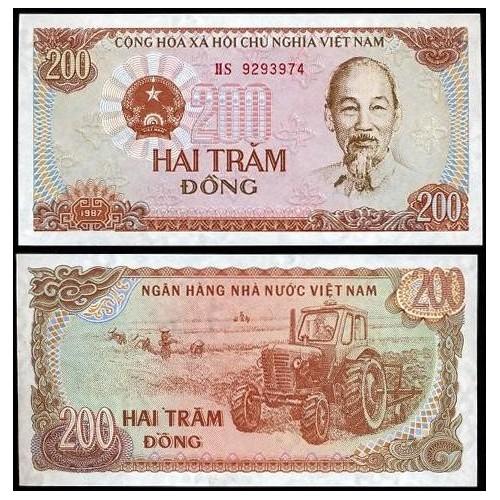 VIET NAM 200 Dong 1987