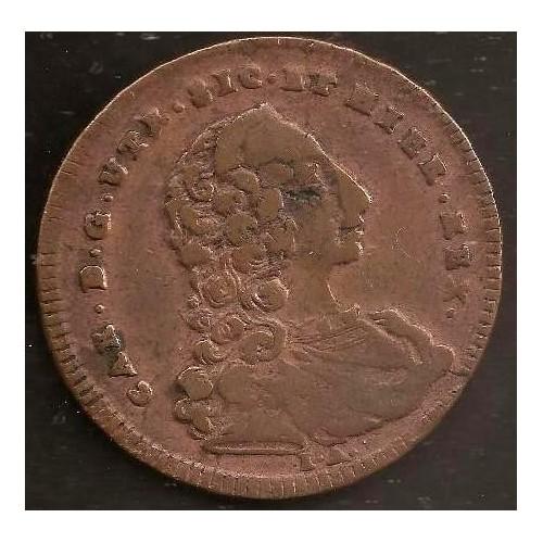 CARLO DI BORBONE Grano 1756