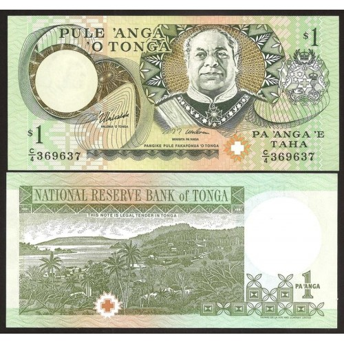 TONGA 1 Pa'anga 1995
