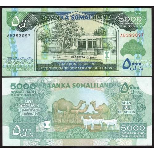 SOMALILAND 5000 Shillings 2011