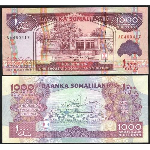 SOMALILAND 1000 Shillings 2011