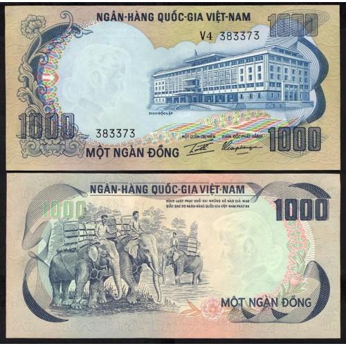 VIET NAM SOUTH 1000 Dong 1972