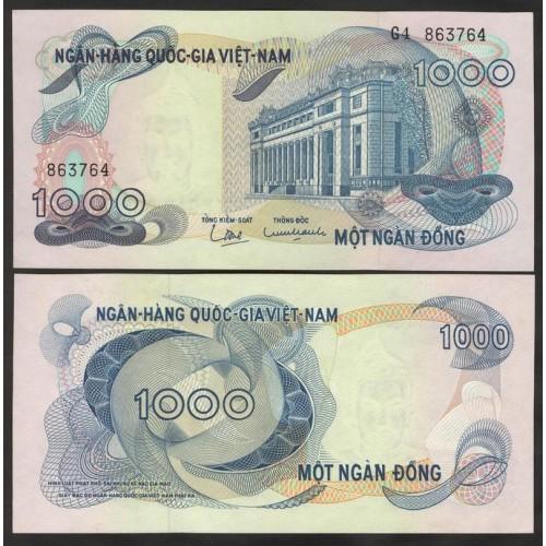 VIET NAM SOUTH 1000 Dong 1971
