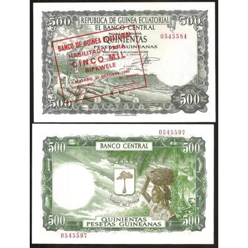 EQUATORIAL GUINEA 5000...