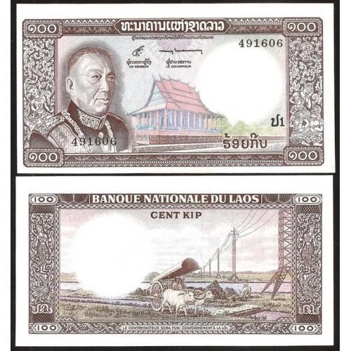 LAOS 100 Kip 1974