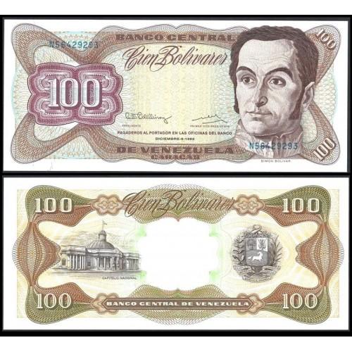 VENEZUELA 100 Bolivares 1992
