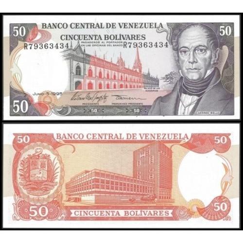 VENEZUELA 50 Bolivares 1995