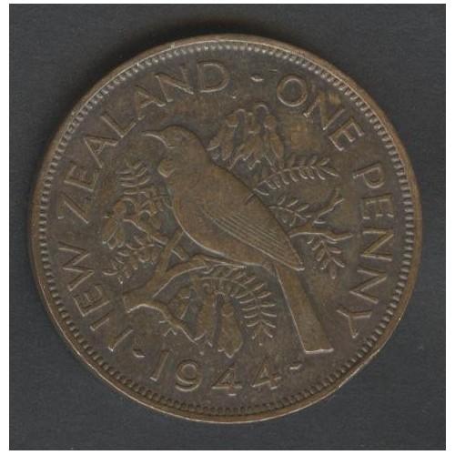 NEW ZEALAND 1 Penny 1944...