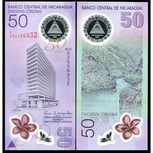 NICARAGUA 50 Cordobas 2010...