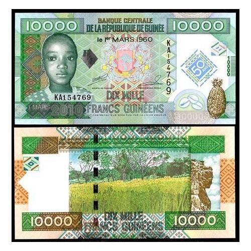GUINEA 10.000 Francs 2010...