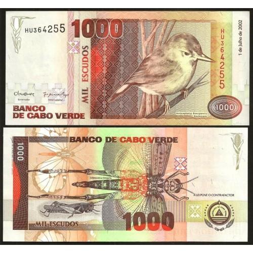 CAPE VERDE 1000 Escudos 2002