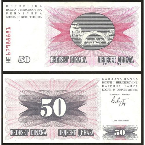 BOSNIA HERZEGOVINA 50...