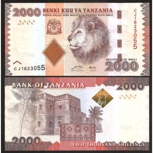 TANZANIA 2000 Shilingi 2010