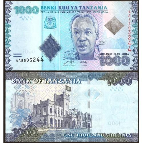 TANZANIA 1000 Shilingi 2010
