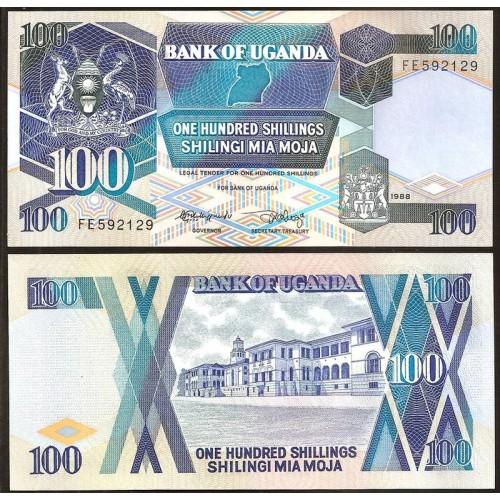 UGANDA 100 Shillings 1988