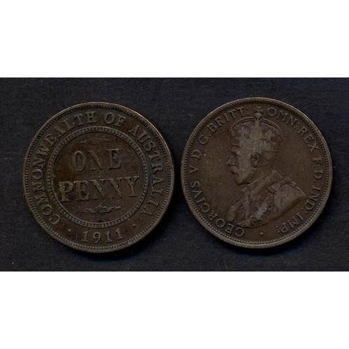 AUSTRALIA 1 Penny 1911...