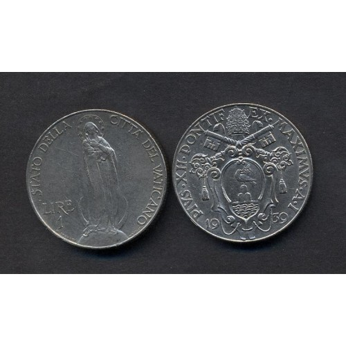 VATICANO 1 Lira 1939